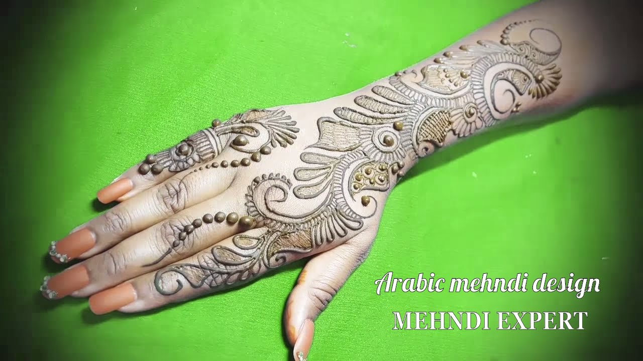 Stylish Unique Mehndi Designs: Latest Stylish Arabic Beautiful Mehndi Designs For Hands
