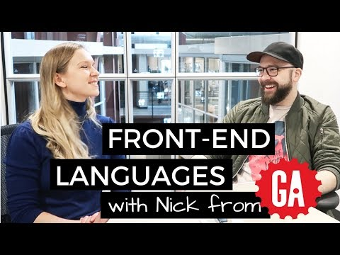 Front end Languages + Mobile development ✨ Interview with Nick from GA part 2 | #FrontendFebruary
