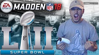 MY FIRST SUPER BOWL!!! ELITE ZEKE IS UNSTOPPABLE! Madden 18 Ultimate Team Gameplay