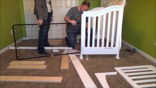 Million Dollar Baby Classic Ashbury Crib In White Assembly