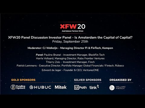 XFW20 Holland FinTech Investor Panel Discussion