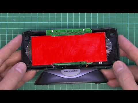 LCD Alarm Clock Backlight Modifications