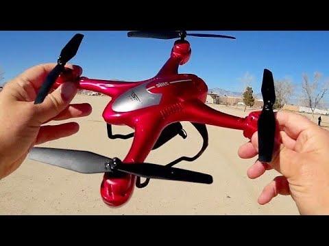 SJRC S30W GPS FPV Follow Me Drone Flight Test Review