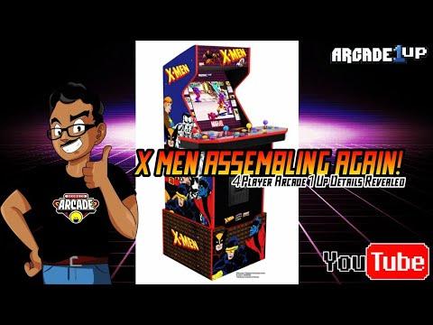 Arcade1Up X-Men 4 Player Revealed! from GEORGIO ARCADE