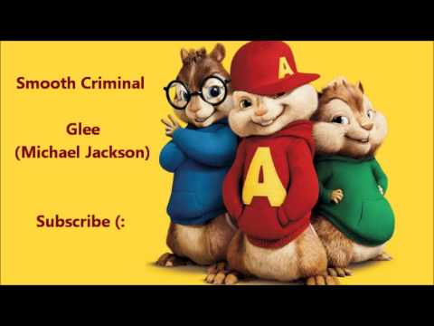 The Chipmunks - Smooth Criminal (Glee / Michael Jackson)