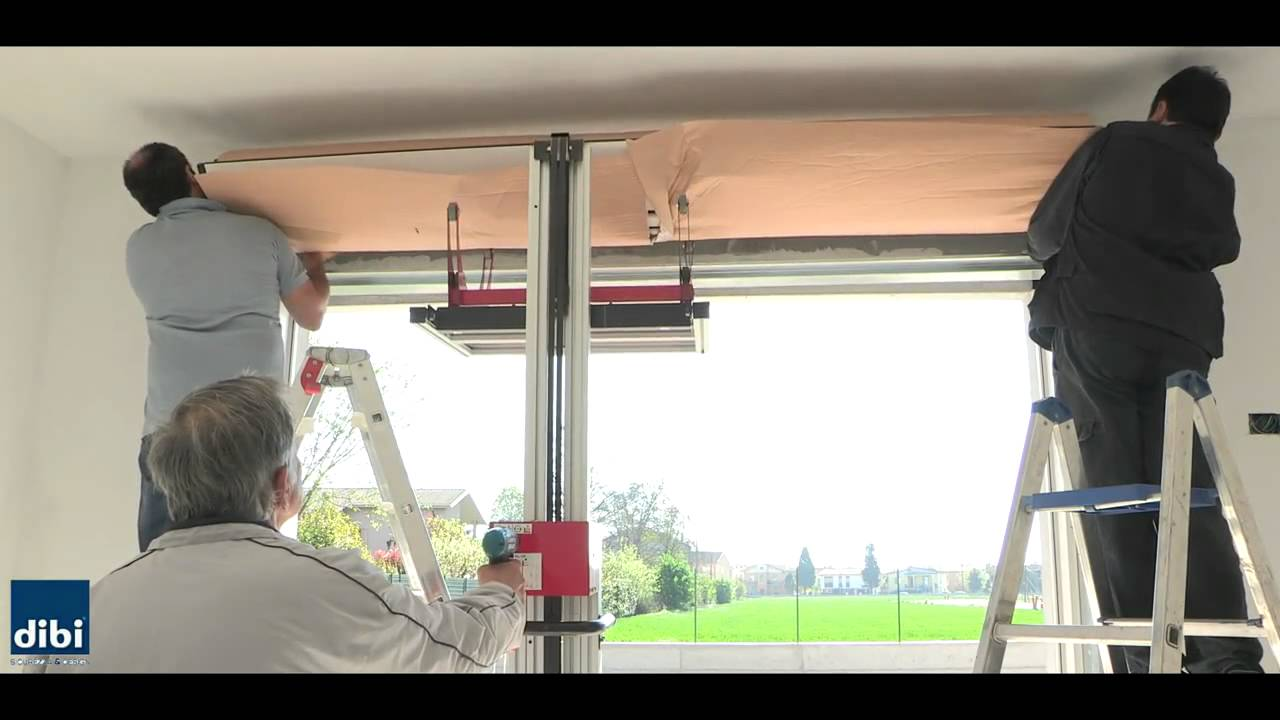 GUIDA montaggio tapparella SECURFLAP DI.BI. PORTE BLINDATE - YouTube