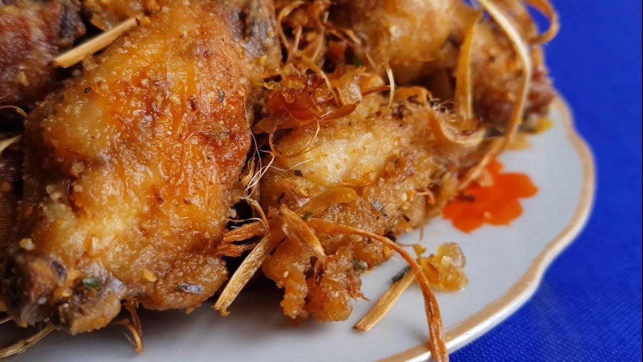 Cách làm gà rang muối đơn giản mà ngon tại nhà| Dạy nấu ăn