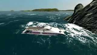 Catamaran Ferry Sinking