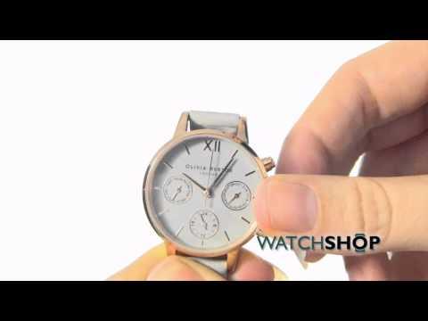 Olivia Burton Ladies' Midi Dial Chrono Watch (OB15CGM54)