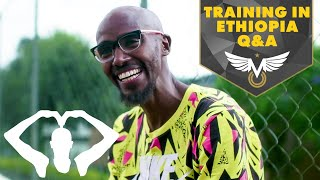 What It's Like Training In Ethiopia | Q&A | Mo Farah
