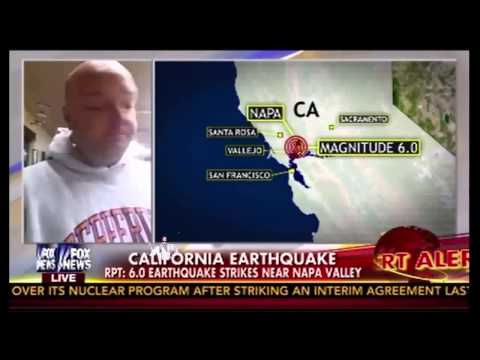 Earthquake California 2014 - 6.0 Magnitude Earthquake Shakes Northern California