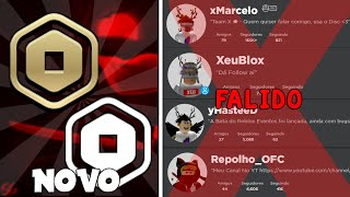 ROBUX NUOVO LOGO! LA YOUTUBE DI ROBLOX WILL FALIR?