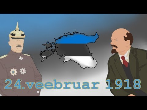 EV100. Veebruar 1918. Eesti iseseisvuse väljakuulutamine