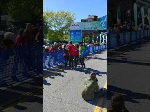 Salt Lake City Marathon 2017 - Finish Line Collapse
