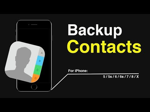 How to export contacts from iPhone to Gmail This video also answers some of the queries below: How t.