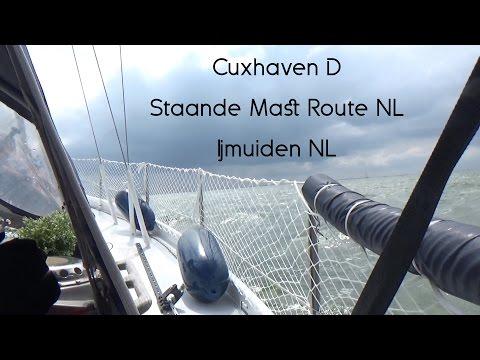 SY Laya Sailing - meer leben: Logbuch Cuxhaven D, Staande Mast Route NL, Ijmuiden NL, 15.-29.07.2016