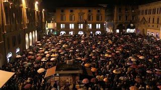 """Reggio Emilia, le sardine: """"L'Emilia Romagna non va """"liberata"""", questa è la piazza della libertà"""""""