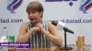 بالفيديو.. لوسي عن غادة عبد الرازق: 'مجتهدة وشاطرة'