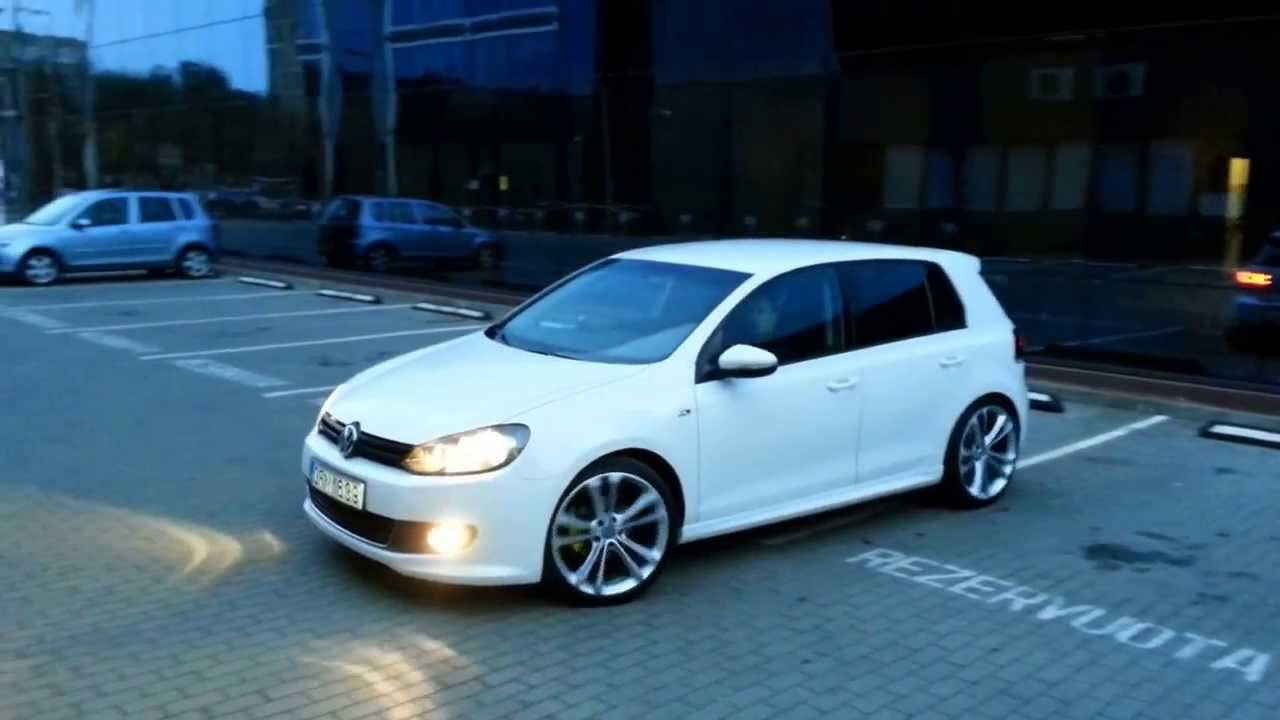 vw golf 6 white rabbit r line r19 youtube. Black Bedroom Furniture Sets. Home Design Ideas
