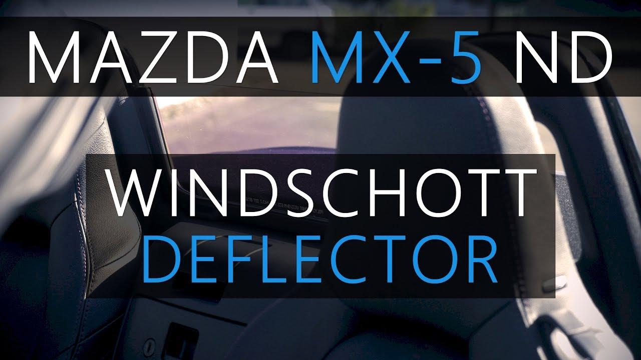 windschott mazda mx-5 nd | wind deflector | windblocker | windstop