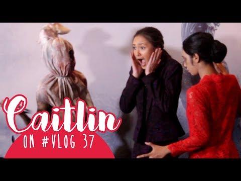 Caitlin on #VLOG 37 - Dipaksa Kakak Kelas, Demi Popularitas 😢 (Premiere Dreadout The Movie)