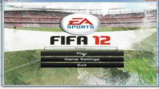 How to change fifa 12 resolution