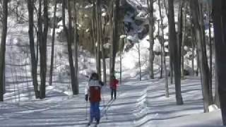 Scenic Caves Nordic Ski Trails Video