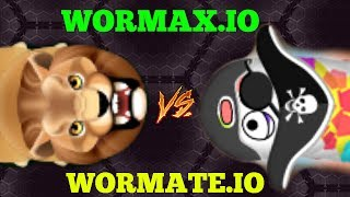 WORMAX.IO VS WORMATE.IO EPIC GAMEPLAY (WHICH IS BETTER?) Best Of Wormax.io // Best of Wormax.io