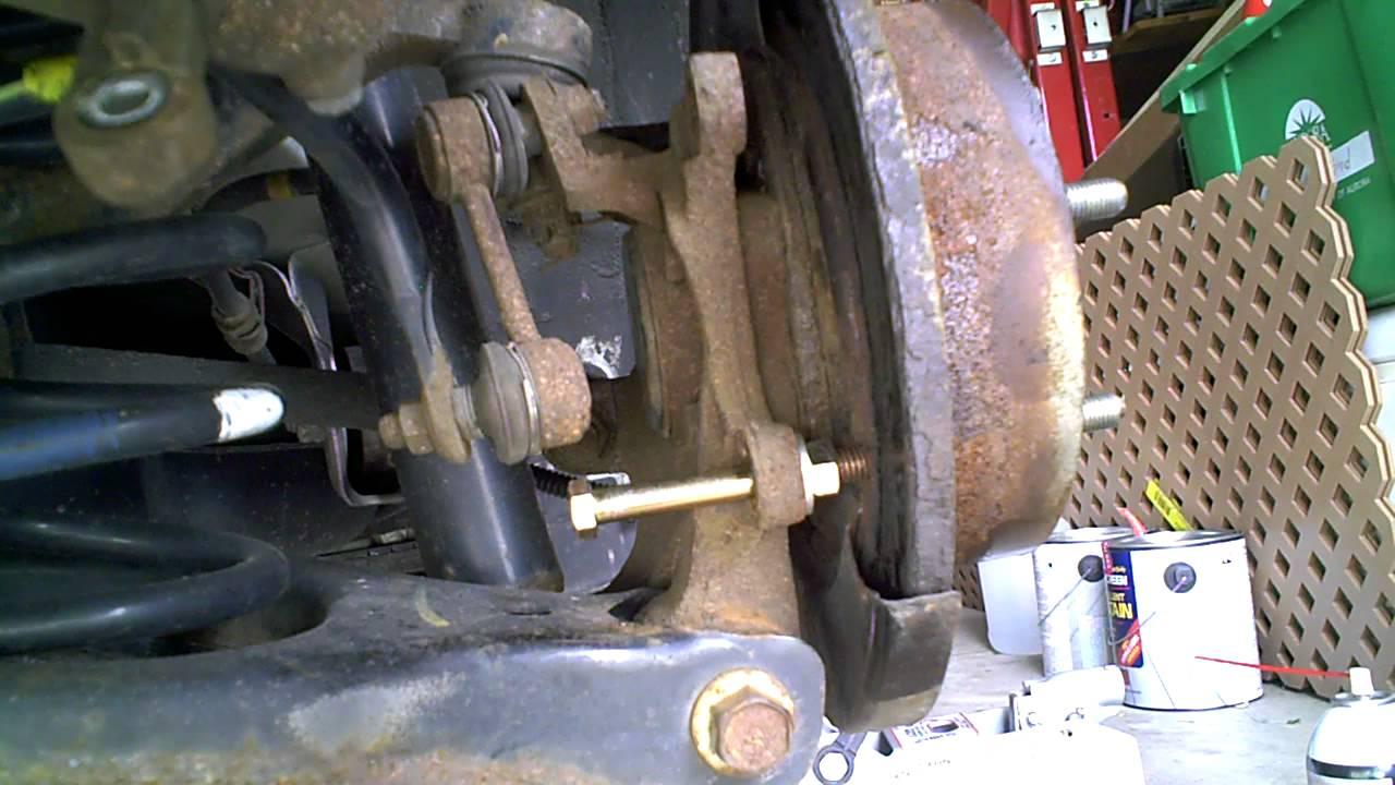 How to Remove the Brake Rotor from a 2006 Hyundai Sonata