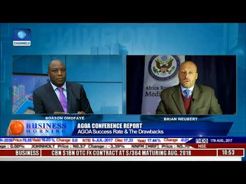 Focus On Lome AGOA Conference Report With Brian Neubert l Business Morning l