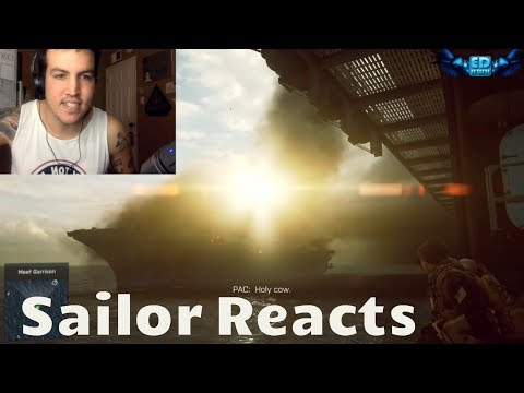 Navy Veteran REACTS to Battlefield 4 South China Sea Mission