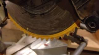 Change a Dewalt DWS780 Miter Saw Blade