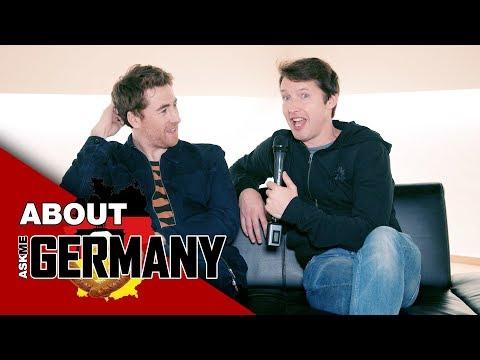 Was wissen James Blunt & Jamie Lawson über Deutschland? ⎮ Ask Me About Germany