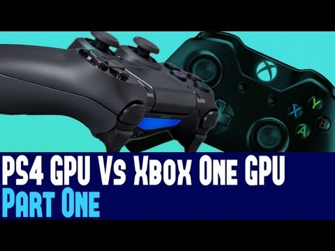 Playstation 4 Vs Xbox One GPU Part 1 - Comparisons To PCs, Memory Bandwidth, ROPS, & More