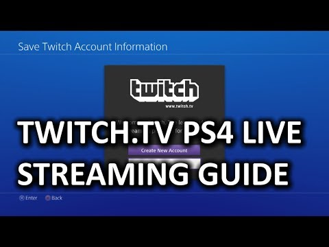 How to Stream from PS4 to Twitch tv & My First Gameplay Commentary Video