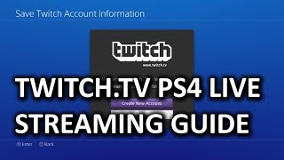How to Stream from PS4 to Twitch.tv & My First Gameplay Commentary Video