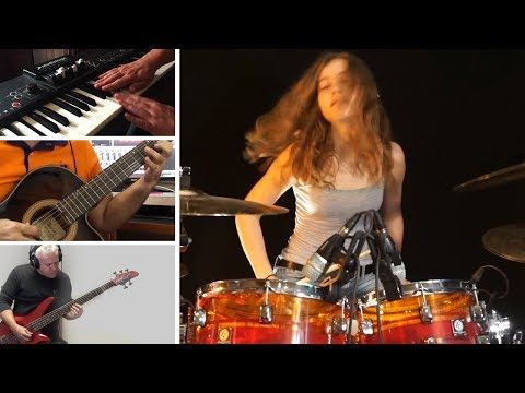 Roundabout (Yes); Split screen cover by Sina & friends