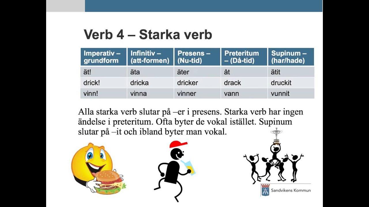 svenska verb