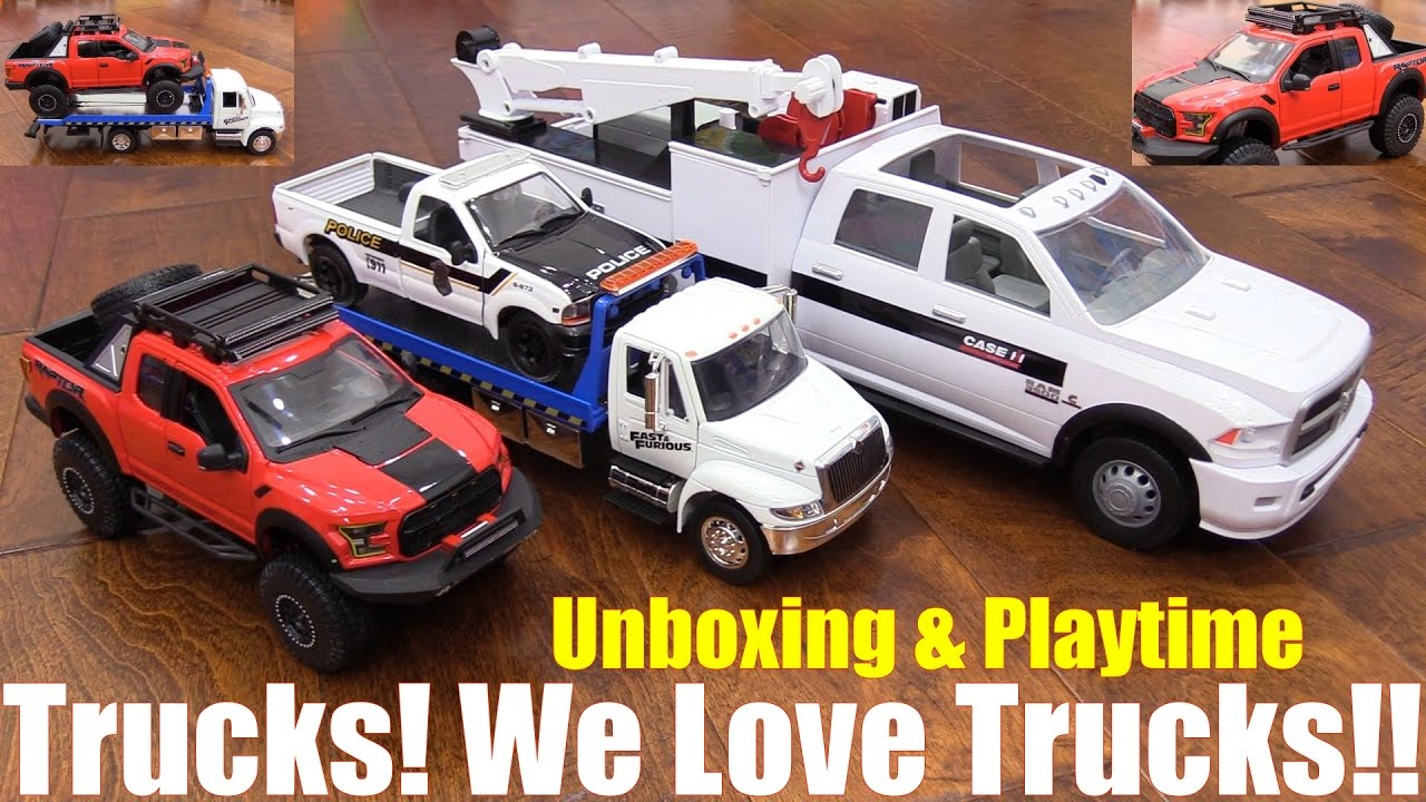 Flatbed Tow Truck >> Diecast Cars and Trucks: Fast & Furious Flatbed Tow Truck ...