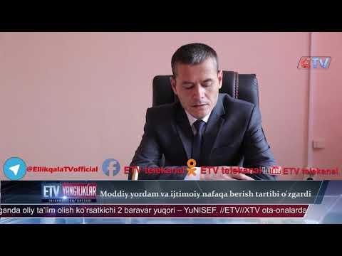 Moddiy Yordam Va Ijtimoiy Nafaqa Berish Tartibi O'zgardi