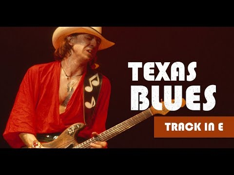 Gorgeous Texas Blues Guitar Backing Track in E