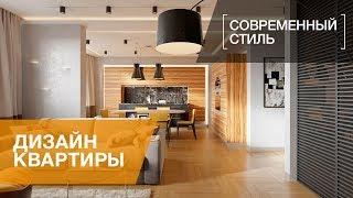 Современный стиль, интерьер квартиры в ЖК «Дом на Лиговском проспекте», 70 кв.м.(, 2016-05-16T09:13:44.000Z)