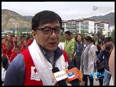 Jackie Chan in Tibet
