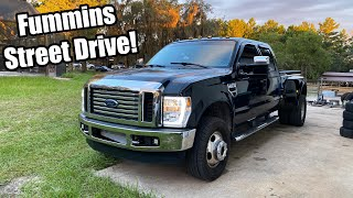 homepage tile video photo for CUMMINS Swapped FORD Gets A Makeover And Hits The STREETS! Fummins Build Pt.20!