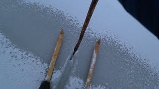 ОПАСНЫЙ ПЕРВЫЙ ПОСЛЕДНИЙ ЛЁД зимняя рыбалка первый лед