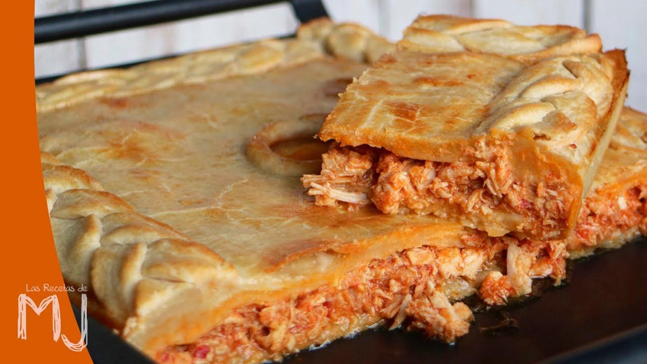 Empanada De Pollo Con Masa Casera Sin Levadura Youtube