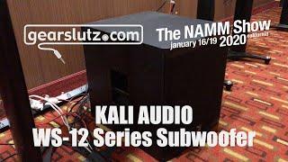 Kali Audio WS-12 Series Subwoofer - Gearslutz @ NAMM 2020