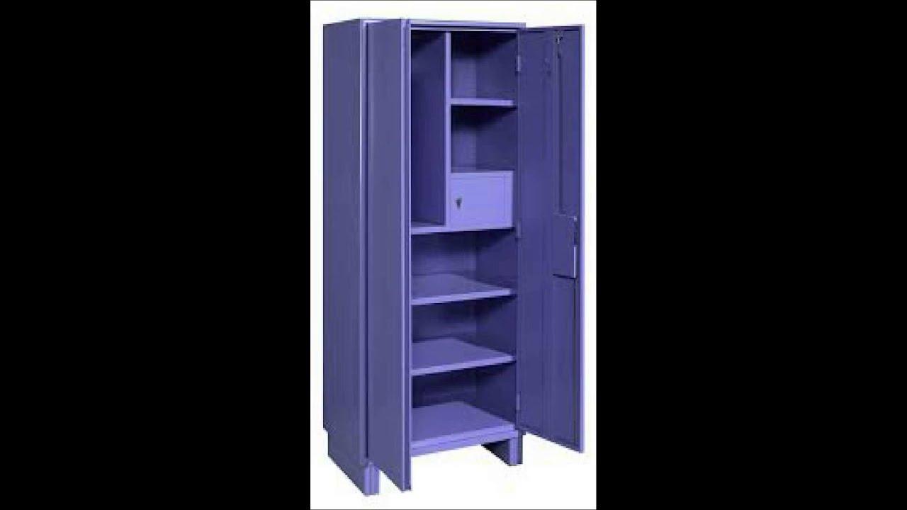 Metal almirah steel cupboard - YouTube