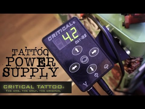 BEST TATTOO POWER SUPPLY - CRITICAL CX-1 / REVIEW
