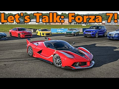 Forza Motorsport 7 | Speculation, Tracks, Wheel Support, Cross Platform